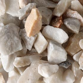 Мраморная крошка, 20-40 мм, 3.5 кг, белый