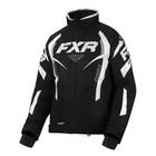 Куртка FXR Team RL с утепленной вставкой, размер S-M, чёрный, белый