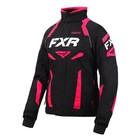Куртка FXR Velocity с утеплителем, размер S-M, чёрный, розовый