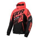 Куртка FXR Boost FX с утепленной вставкой, размер S-M, чёрный, красный