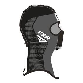 Балаклава FXR Shredder Tech, размер S, чёрный, серый, белый