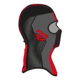 Балаклава FXR Shredder Tech, размер L, чёрный, серый, красный