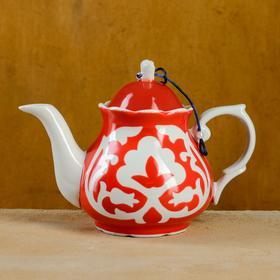 Чайник Слоник 0,8 код 5000 Пахта красная