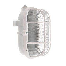 Светильник НБП 01-60-002 УЗ, Е27, 60 Вт, 220 В, IP53, с решеткой, белый