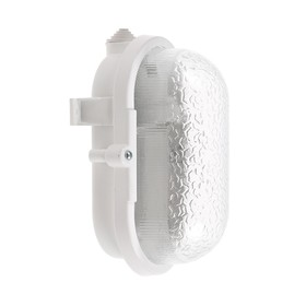 Светильник НБП 01-60-002 УЗ, 60 Вт, Е27, 220 В, IP53, У3, с ободом, белый