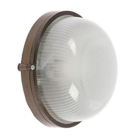 Светильник НБП 03-60-001 УХЛ1, 60 Вт, Е27, 220 В, IP54, до +130°, цвет бронза Ош