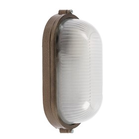 Светильник НБП 04-60-001 УХЛ1, 60 Вт, E27, 220 В, IP54, до +130°, цвет бронза Ош