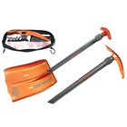 Лопата с ледорубом BCA SHAXE SPEED, оранжевый, серый