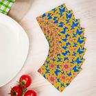 "Набор салфеток бумажных ""Бабочки в саду"""