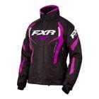 Куртка FXR Team RL с утеплителем, размер M, чёрный, фиолетовый
