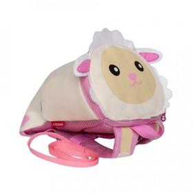 Рюкзак детский, отдел на молнии, цвет бежевый/розовый