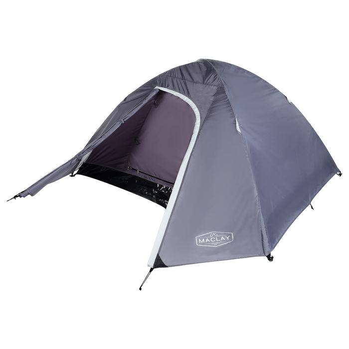 Палатка туристическая MALI, 210 х 210 х 115 см, 2-х местная, цвет серый - фото 36283