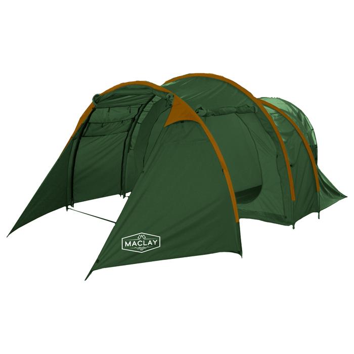 Палатка туристическая VOYAGER, 500 х 300 х 200 см, 4-х местная, цвет зелёный