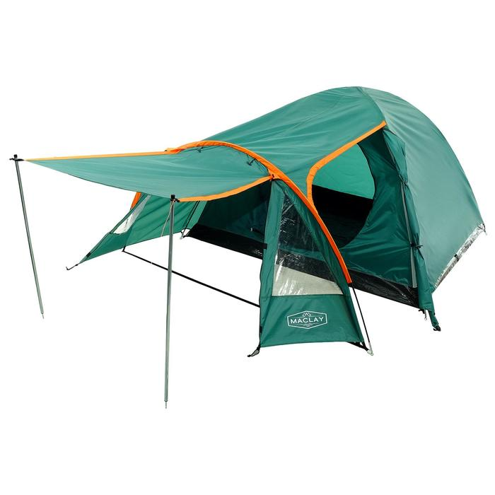 Палатка туристическая YNGRA, 330 х 210 х 140 см, 3-х местная, цвет зелёный - фото 36288