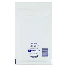 Крафт-конверт с воздушно-пузырьковой плёнкой Mail Lite, 11х16 см, белый