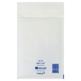 Kraft envelope with bubble wrap 15x21 C/0 white