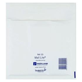 Крафт-конверт с воздушно-пузырьковой плёнкой Mail Lite, 18х16 см, белый