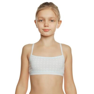 Бюстгальтер для девочки, цвет голубой, рост 122-128 см