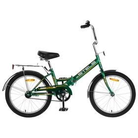 """Велосипед 20"""" Stels Pilot-310, Z011, цвет зелёный/жёлтый, размер 13"""""""