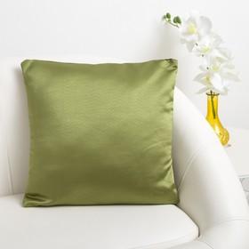 Декоративная подушка «Этель» 40×40 см, Дамаск CYPRESS SOLID