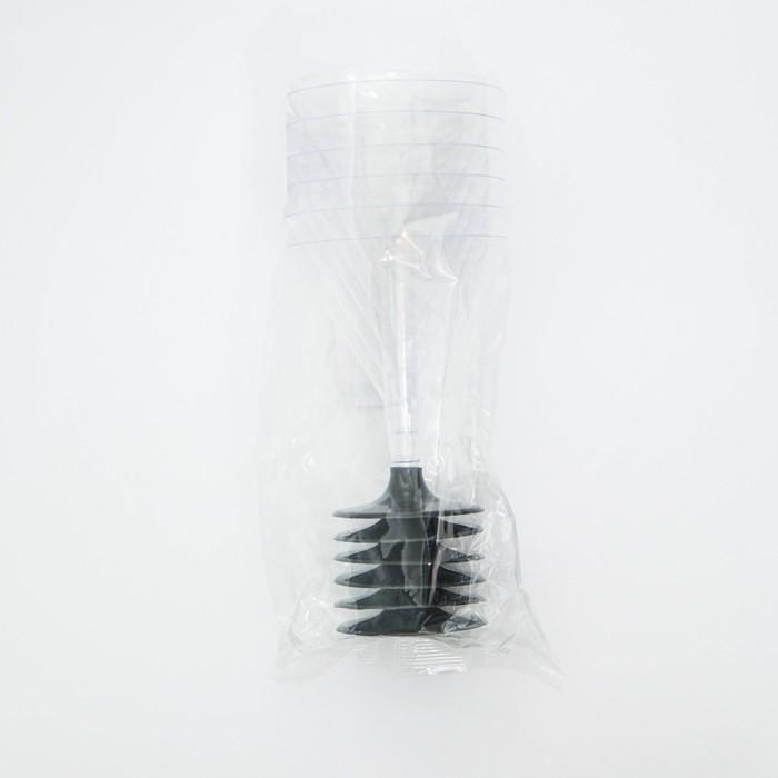 Бокал одноразовый для мартини «Бокалисто», 100 мл, 6 шт/уп, цвет прозрачный