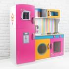 Игровой набор «Кухня» цвет розовый - фото 105580637