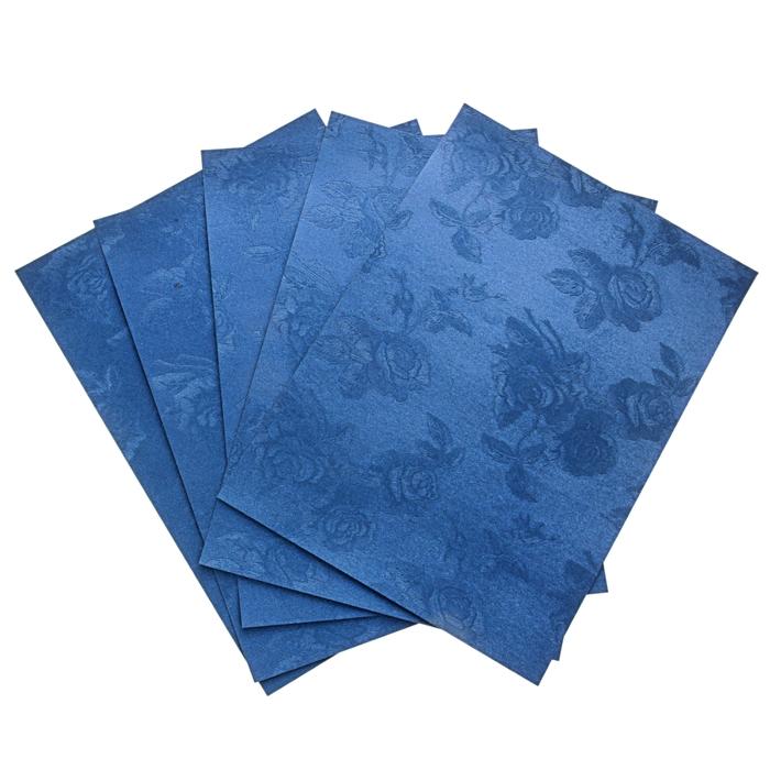 """Бумага """"Розы на синем"""" А4, набор 20 листов"""