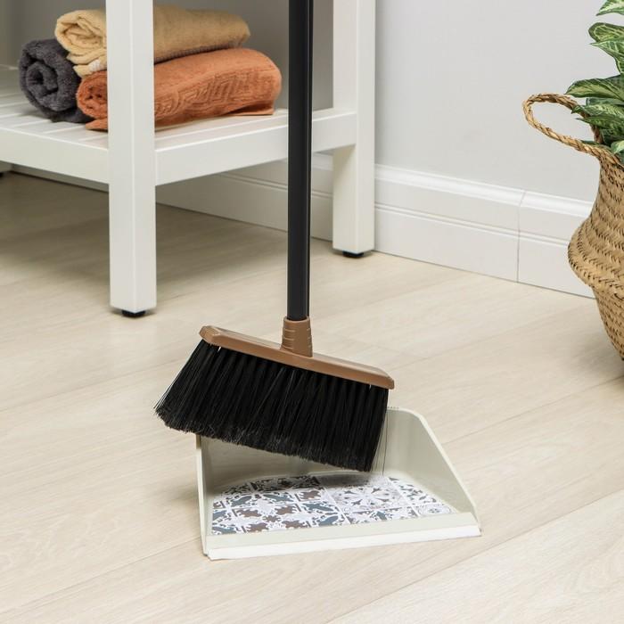 Набор для уборки IDEA «Ленивка Деко», цвет бежевый