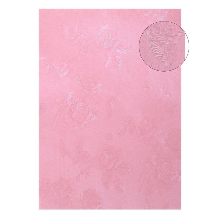 """Бумага """"Розы на розовом"""" А4, набор 20 листов, 180 гр"""