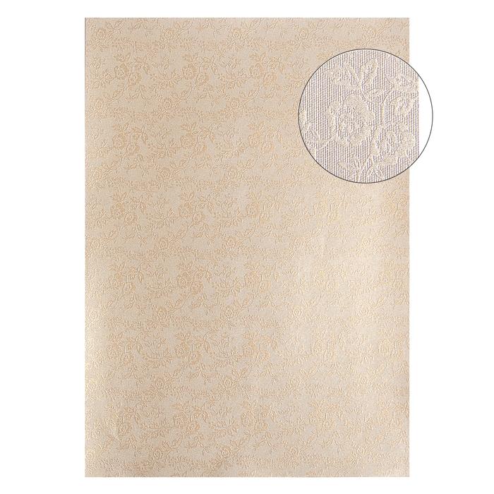 """Бумага """"Цветник на золотом"""" А4, набор 20 листов"""