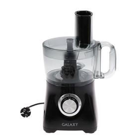 Кухонный комбайн Galaxy GL 2302, 800 Вт, чаша 1.2 л, 2 скорости, 3 диска для нарезки