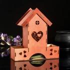 """Чайный домик """"Сердце с завитками"""""""