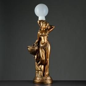 "Лампа интерьерная ""Гречанка"" бронза, 104см"