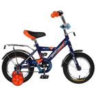 "Велосипед 12"" Novatrack Twist, цвет синий"