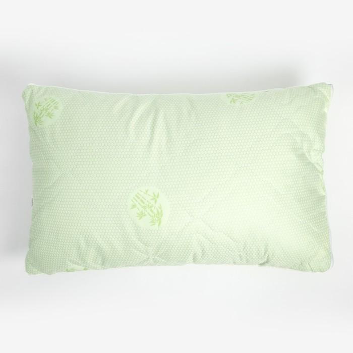 Подушка стёганая, размер 40х60 см, бамбук/тик (сумка)
