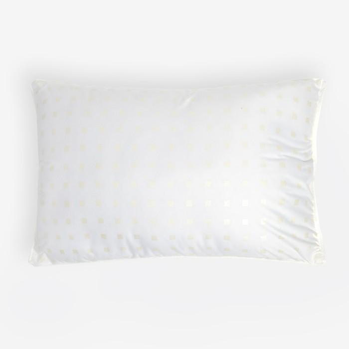 Подушка, размер 40х60 см, лебяжий пух/тик