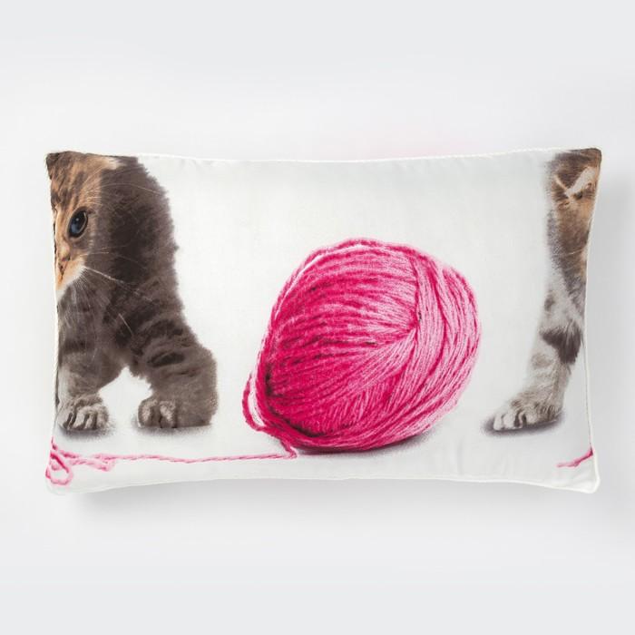 Подушка, размер 40х60 см, синтепон/лавсан