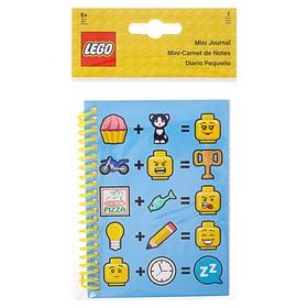 Блокнот 100 листов линейка LEGO Iconic (смайлик), 12.5x20x1.5 см