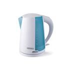 Чайник электрический HT-EK603, 2200 Вт, 1.7 л, автоотключение без воды, бело-бирюзовый