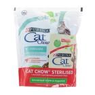 Акция! Сухой корм CAT CHOW для стерилизованных кошек, птица, 400 + 85 г