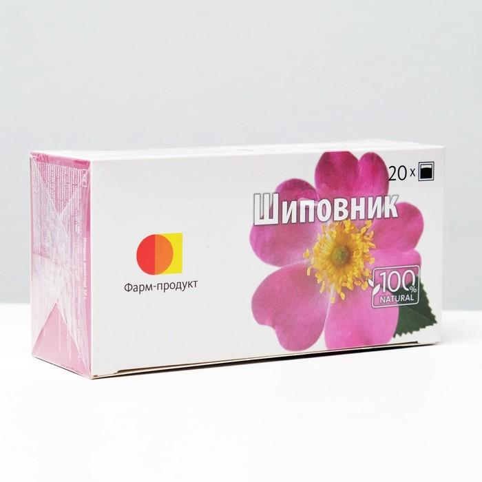 Фиточай травяной «Шиповник», 20 фильтр-пакетов по 1,5 г