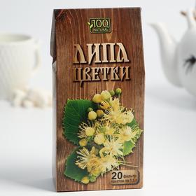 Чайный напиток Алтай «Цветки липы» , 20 фильтр-пакетов по 1,5 г.