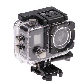Action camera Luazon RS-01, 4K, Wi-fi, remote, case for underwater photography, black