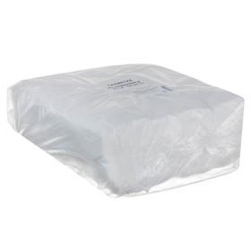 Absorbent disposable napkins, solution 20 * 20 cm, spanlace, 35 g / m2, 100 pcs per pack.