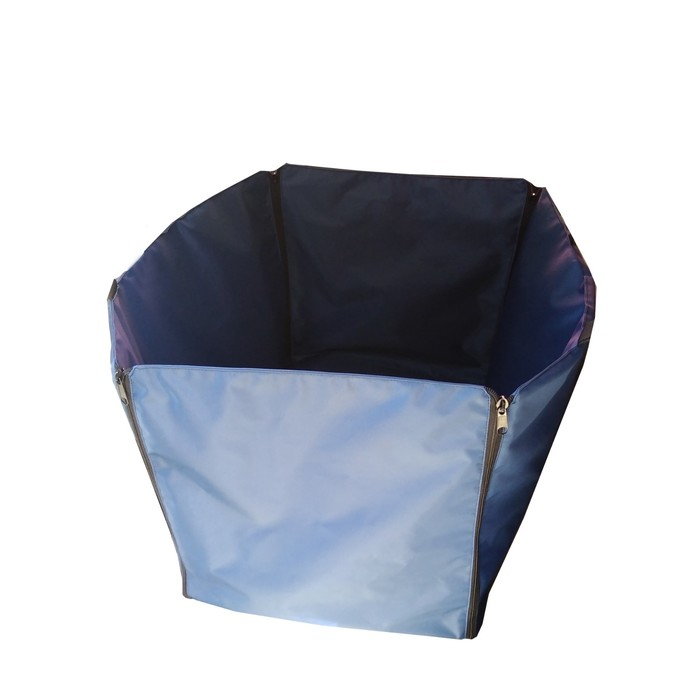 "Автогамак ""Компакт"", оксфорд 600, синий, 500х400х350/400 мм - фото 185997"