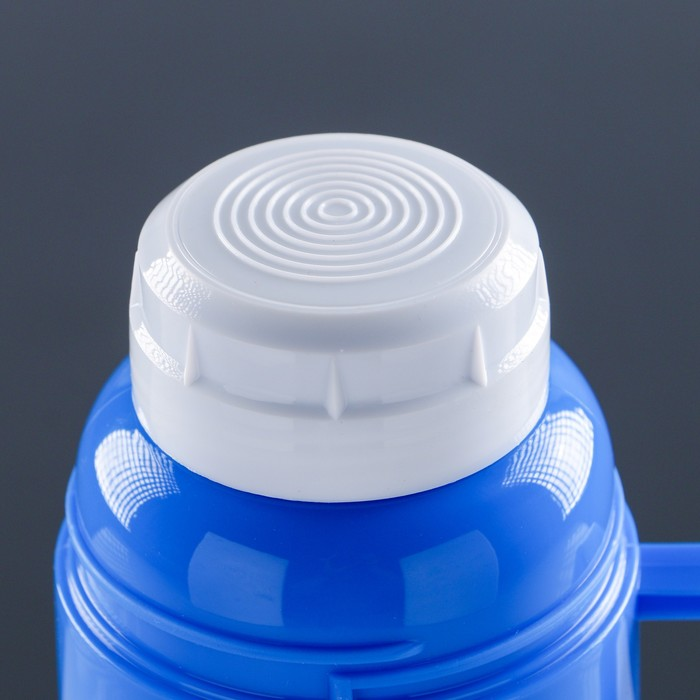 Термос с ручкой «Классика», 0.45 л, 1 кружка, 6-8 ч, микс