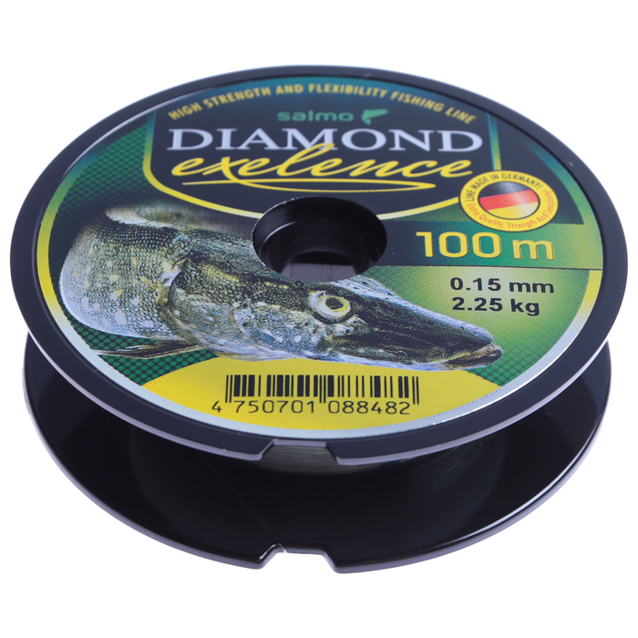 Леска моно. Salmo Diamond EXELENCE 100м 0,15мм