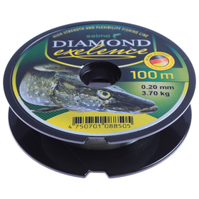 Mono fishing line. Salmo Diamond EXELENCE 100m 0.20mm.
