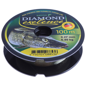 Mono fishing line. Salmo Diamond EXELENCE 100m 0.27mm.