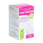"""Функциональный корм """"Лактоферон"""" для всех животных, с пробиотиком и фитокомплексом, 20 таб"""